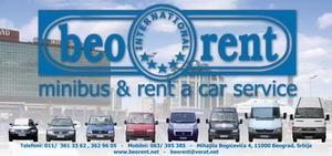 Beorent international minibus & rent a car service